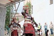 Chodské slavnosti v Domažlicích.