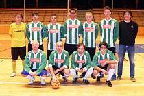 Divizní futsalisté Ajaxu Staňkov.