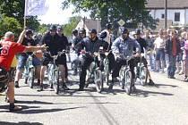 Obec u česko-bavorských hranic bude hostit setkání mopedistů.