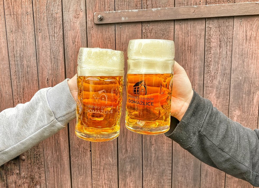 Domažlické pivo.