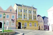 Hotel Šumava v Horšovském Týně.