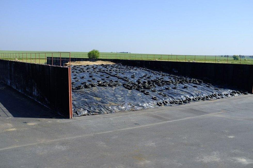 Návštěva meclovské bioplynky.
