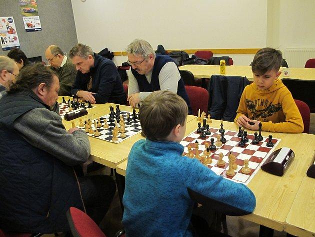 O pohár města Kdyně šachisté v sobotu zápolili už po šestatřicáté.