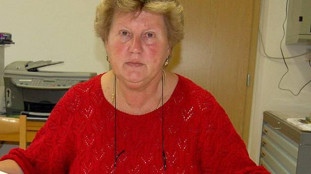 Ludmila Rousová, starostka Všerub.