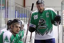 ´DŘEVORUBCE´Z TRHANOVA čeká o víkendu těžká robota. S HC Nýřany se utkají o účast v play-off DNHL.