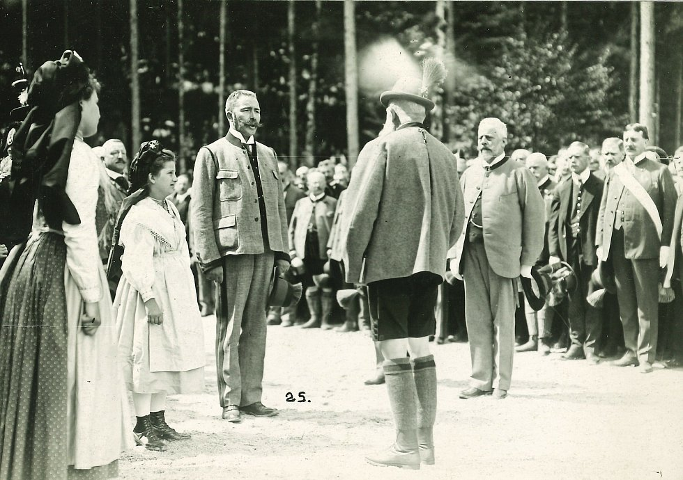Setkání s císařem Františkem Josefem I.  Foto: archiv výstavy