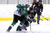 Z utkání hokejistů HC Trhanov a Ice Barons Waldmünchen.