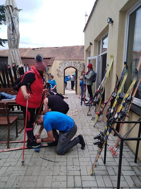 Vánoce, lyže a běžky v Osvračíně.