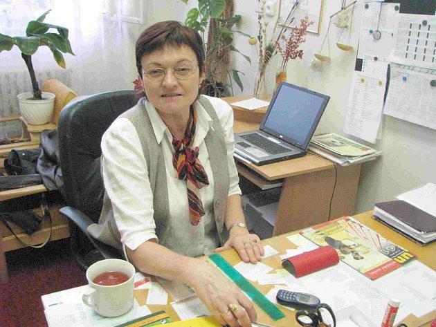 Ředitelku Jarušku Šafránkovou zastihla zpráva o bombě u oběda.