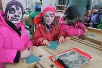 V minulém týdnu navštívily děti z mateřské školy v ulici Msgre B. Staška domažlické SOU.