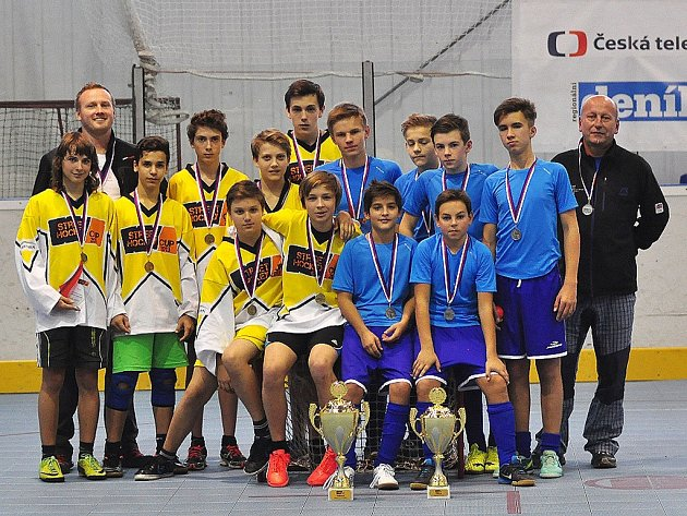 Finalisté Street Hockey Cup 2015.