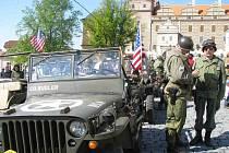 Convoy of Remembrance v Horšovském Týně.