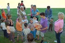 Den dětí v Srbech. Bavili se dobře malí i velcí.