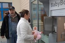 Slavnostní otevření domažlického babyboxu