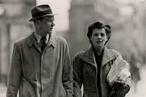 Jan Smudek se svou manželkou, Angličankou Margaret Bush v Domažlicích.
