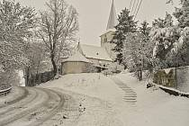 Sněhová neděle v Loučimi.