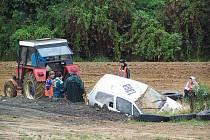 Předposlední klání v rallyekrosovém areálu Motorsportklubu AMK Domažlice.