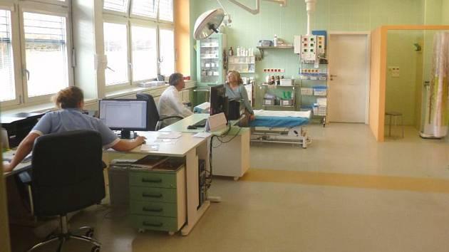 Chirurgická ambulance domažlické nemocnice.