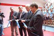 Otevření nového školního pavilonu ve Kdyni