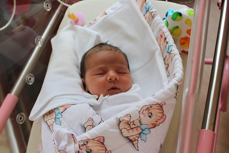Julie Kramperová z Karlových Varů se narodila v plzeňské FN na Lochotíně 15. června v 1:33 (3470 g). Rodiče Veronika a Jakub věděli dopředu, že jejich prvorozené miminko bude holčička, kterou si maminka moc přála.