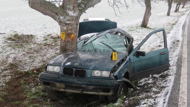 Nehoda u Meclova.