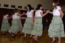 Starší žákyně získaly 2. místo na soutěží country tanců v Tábože