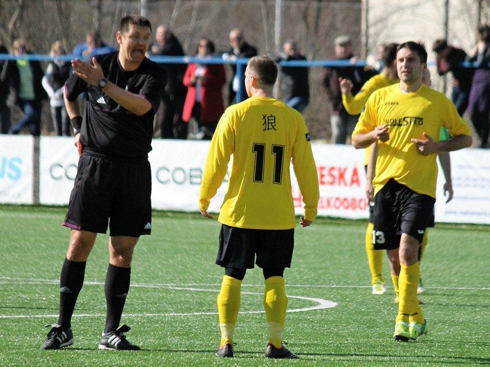 Chodové na Vyšehradu kvůli dvěma hloupým gólům neuspěli.