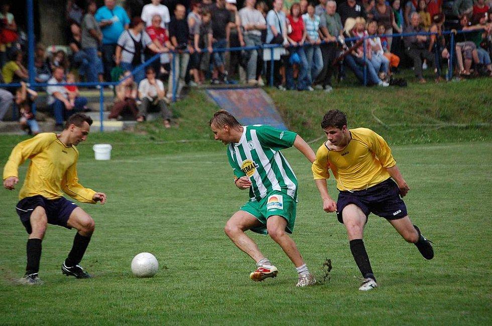 Domácí výběr Krchleb podlehl týmu hvězd 2:4.