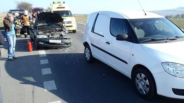 Čtvrteční nehoda u Draženova