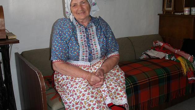 Alžběta Vondrašová z Mrákova.