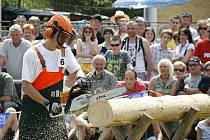 Dřevorubecké slavnosti 2010 v Peci.