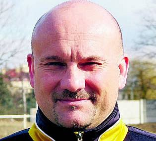 Fotbalový trenér Milan Dejmek.