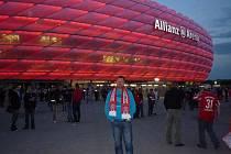 Nadšenci z Holýšova na zápase Bayernu Mnichov.