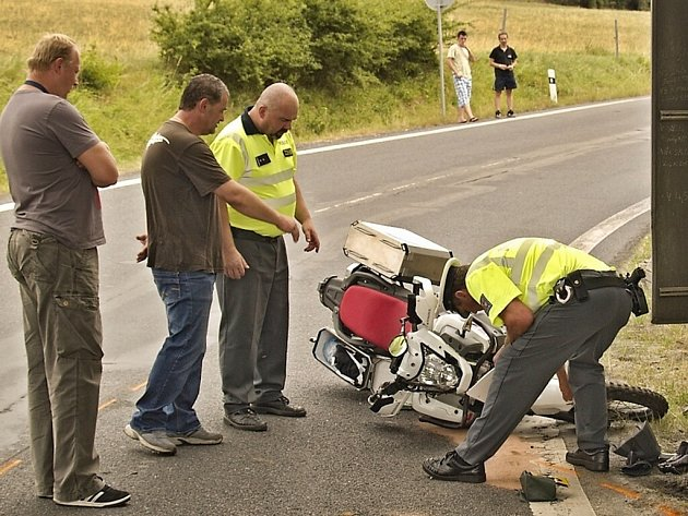 Nehoda u Loučimi.