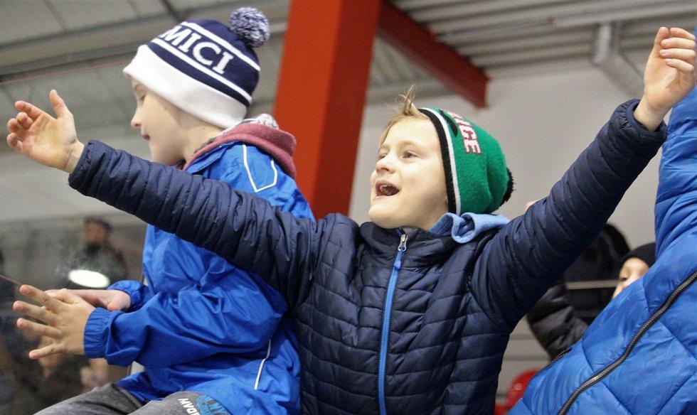 Hokejoví Akademici Plzeň porazili v Domažlicích polskou Krynicu.
