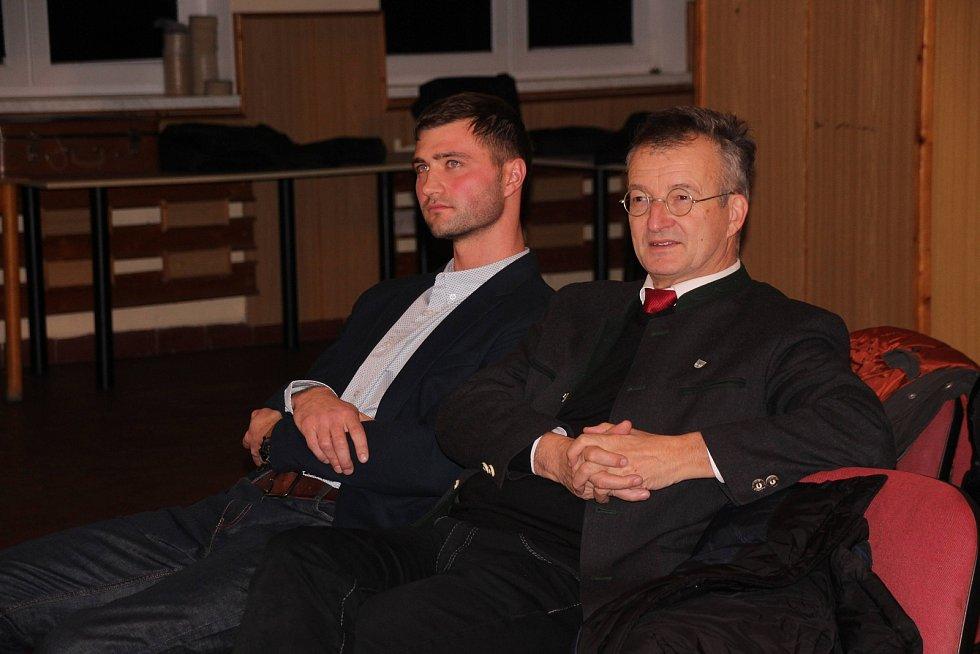 Ze setkání mezi Klenčím a Waldmünchenem.