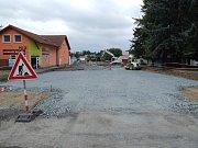 Práce v Horšovském Týně.