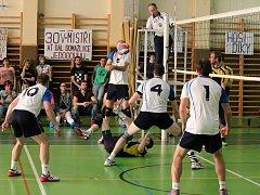 Domažličtí volejbalisté podlehli v kvalifikaci o I. ligu favorizovanému ČZU Praha.