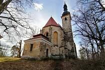 Svatá Anna na Vršíčku u Horšovského Týna.