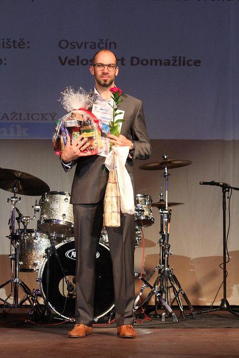 Dospělí - jednotlivci: osmý silniční cyklista Jiří Baier.