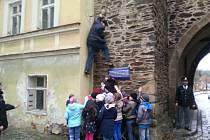 Hra Detektivem na zkoušku v Domažlicích.
