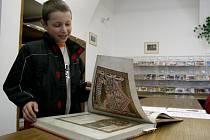 Kodex vyšehradský v Městské knihovně Boženy Němcové