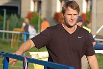 Trenér Roman Vyleta.