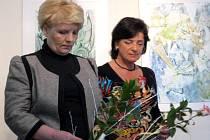 Marie Mužíková a Jan Hrušková společně vystavují ve Kdyni.