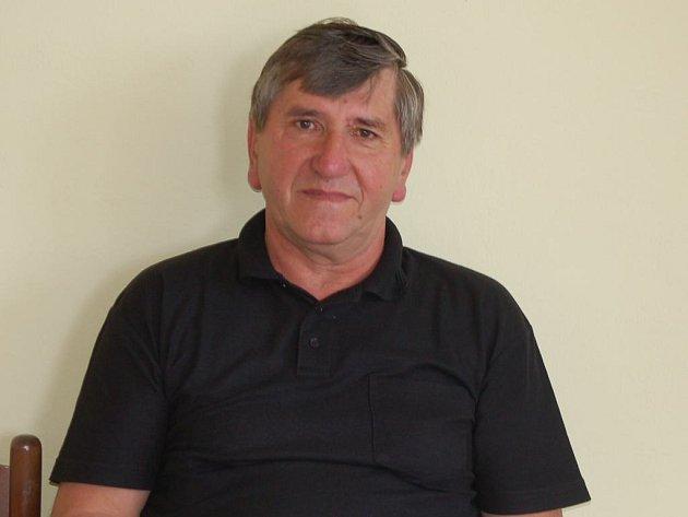 Václav Dolejš, starosta zahořanského hasičského okrsku.