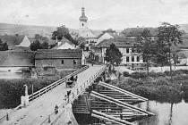 Historická fotografie Staňkova.