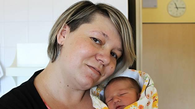 Pavel Lagron z Domažlic se narodil 22. února ve 04:13 v domažlické nemocnici s váhou 3 330 gramů a 50 centimetry.