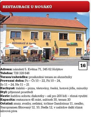 Restaurace UNováků.