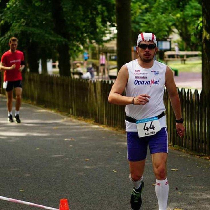 Chodecký křest ohněm zažil Martin Frei v rámci ultramaratonu na Kladně. Plánuje se tam vrátit pro lepší výsledek.