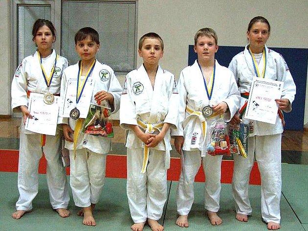 DOMAŽLIČTÍ JUDISTÉ na turnaji v Benešově dobře reprezentovali svůj oddíl a vybojovali čtyři medaile.